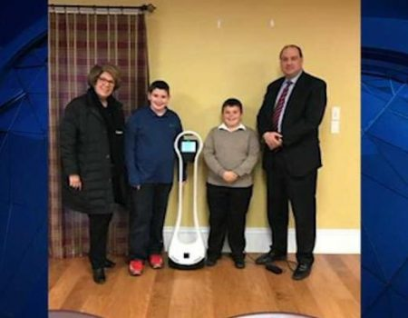 Disabled boy wins fight to send robot to his classroom