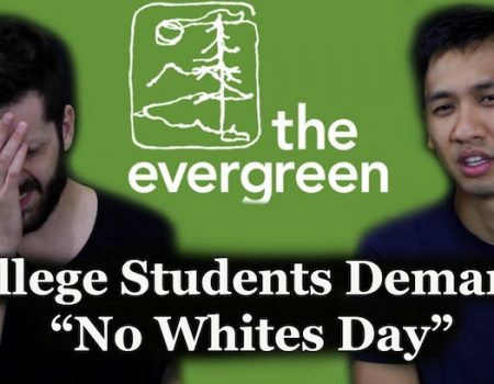 Evergreen College students back at it with 'No White People' day