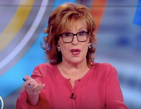 Joy Behar wants you to believe she doesn't wish the president ill