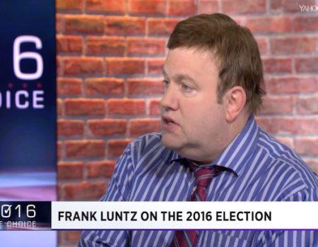 Frank Luntz, anti-Trumper, slams anti-Trump media