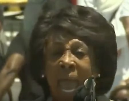 Maxine Waters calls for street 'screaming' over Trump, says Democrat Party is not socialist