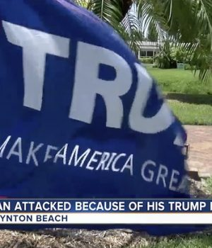 Trump supporter dragged by car for his allegiance to the president