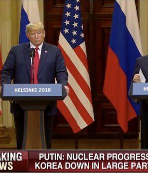 Trump blasts Mueller probe, Putin denies meddling as leaders tout summit as 'success'