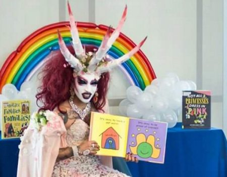Be Ready for 'Drag Queen Story Hour' at Your Local Library