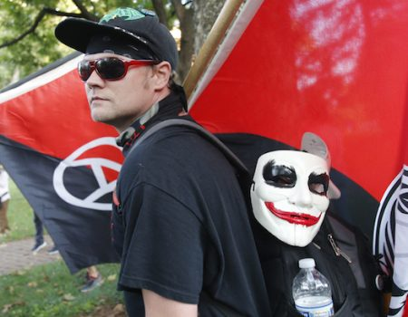 'Unite the Right' march triggers tension, Antifa clashes, hundreds of counterprotesters