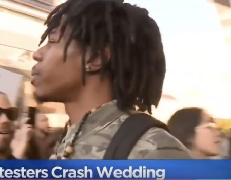 Black Lives Matter protesters crash police officer's wedding: 'You're a murderer!'