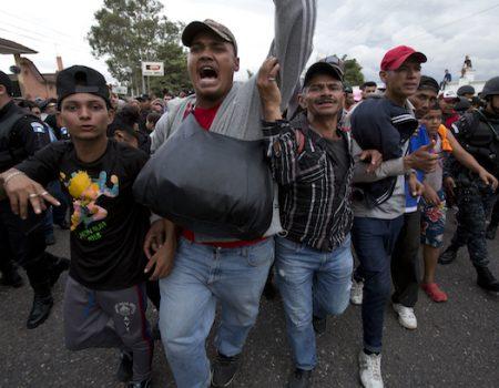 Trump warns Honduras against sending illegal 'migrant caravans'