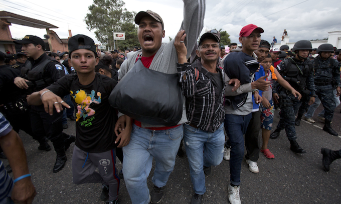 DHS: Middle Easterners in caravan that's costing US $220M