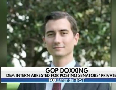 Staffer for multiple Democrats arrested in doxxing of GOP senators' private information
