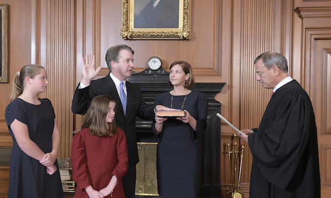 Kavanaugh will be the first SC justice to have 4 female law clerks