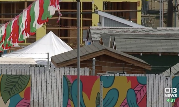 Photos Tiny House Seattle Wa: Seattle Homeless Camp That Allows Alcohol, Drug Use Fails