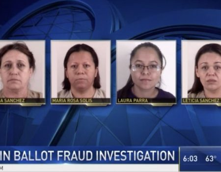 Four women in 'voter fraud ring' arrested. They targeted seniors on city's north side