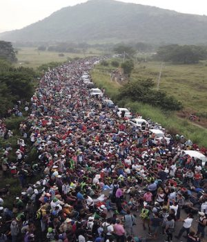 Trump on Strong Legal Ground to Stop Caravan
