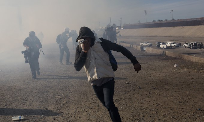 Hypocrisy: Obama administration used tear gas at border once a month as Democrats stood by silently
