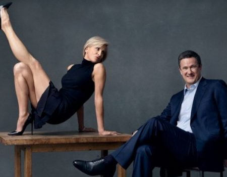 Leftist mouthpieces Scarborough and Brzezinski rewarded with National Archives wedding