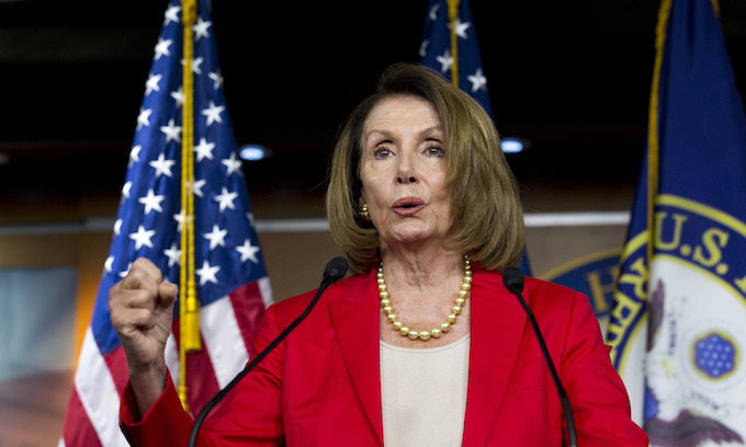 Pelosi tells Democrats not to be baited by Trump's 'scaravans'; 'San Francisco values, that's what we're about'