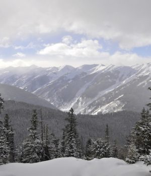 Colorado early snow clouds climate change debate