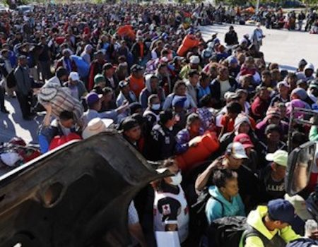 Migrant caravan mostly standard illegal aliens, not asylum seekers