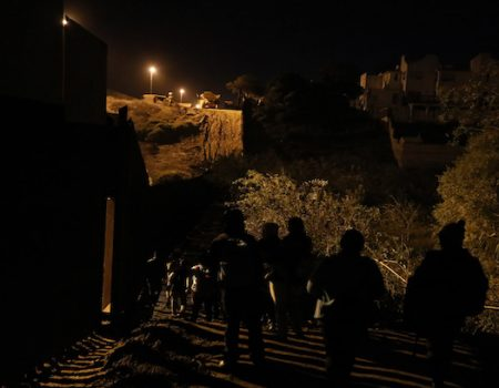 What will happen to caravan members who cross illegally into the U.S.?