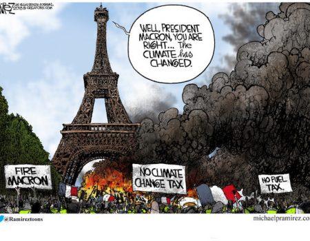 Macron under fire