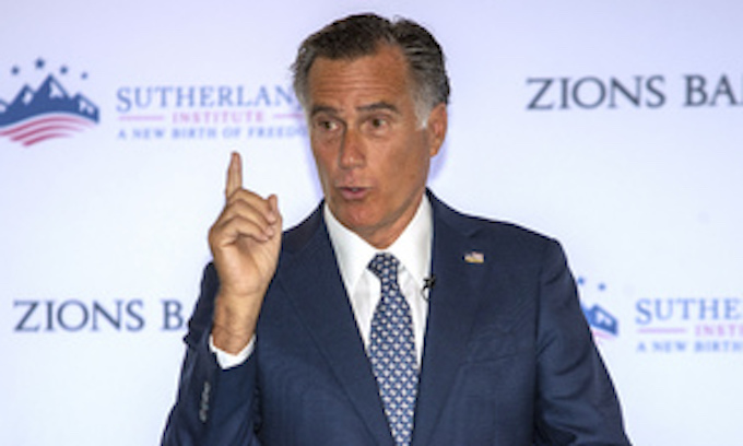 Mitt Romney wants a carbon tax; talks border policy and 'Medicare for All'