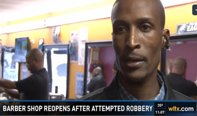 Police: Armed robber shot and killed by barber shop patrons after Friday night robbery