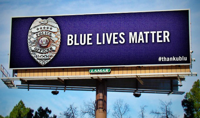Chattanooga Blue Lives Matter billboard stirs resentment