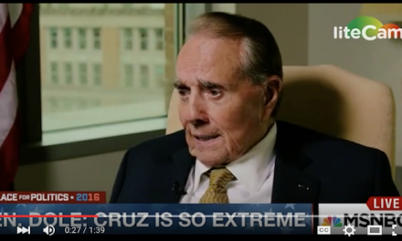 Bob Dole rips Ted Cruz: Nobody likes him; deal-maker Trump would work better with Congress