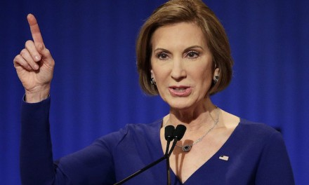 Reports: Ex-rival Fiorina may be Trump's pick for U.S. intelligence
