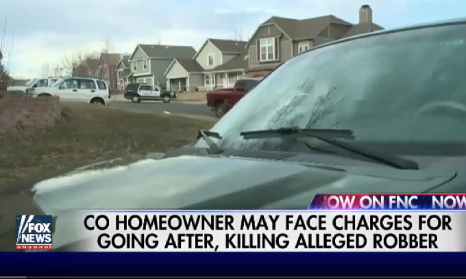 Homeowner Gets Robbed at Gunpoint, Fights Back, May Go to Jail