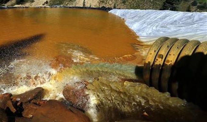 EPA refuses to pay claims resulting from disastrous mine spill