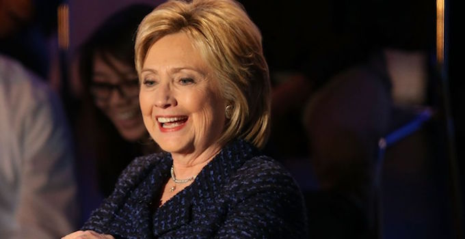 Hillary: Obama as a Supreme Court justice would be a great idea