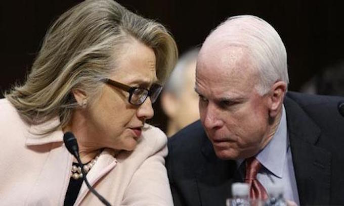 McCain promises opposition to Clinton court picks, backs off, doesn't know if Trump picks better