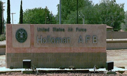 Illegal alien children arrive at Holloman