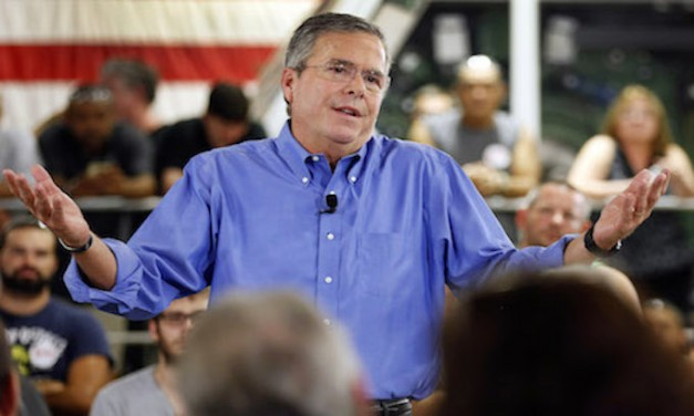 Low-energy Jeb: Donald Trump's first 200 days have been 'exhausting'