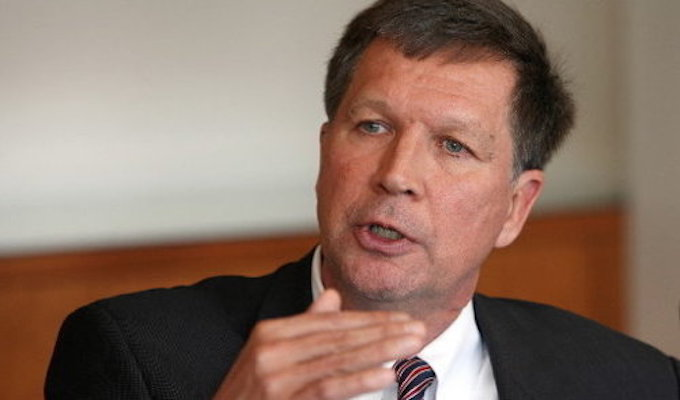 Kasich questions his 'purpose' as candidate