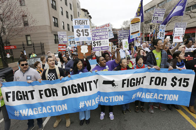 Fight for $15 targets politicians in bid to take minimum wage to the ballot box