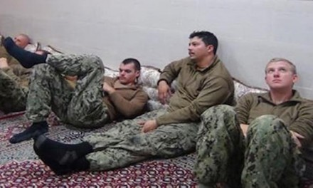 Iran state TV broadcasts US sailor's apology