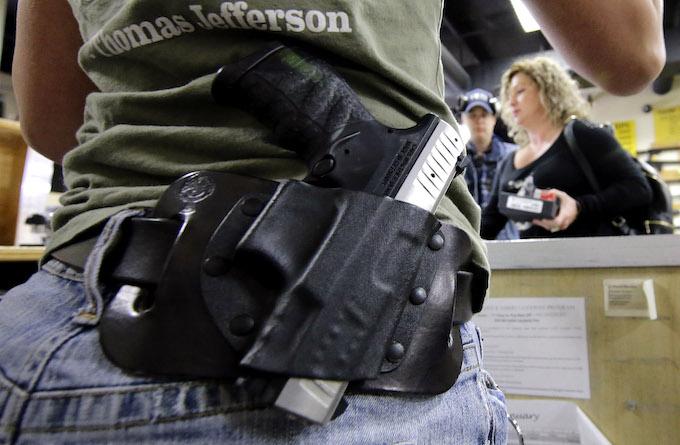 Gun Store Thefts Rise