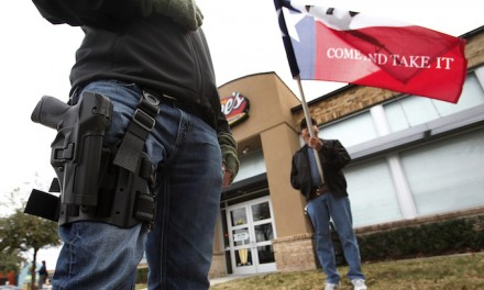 Open carry controversy started with a bang but shooting blanks so far