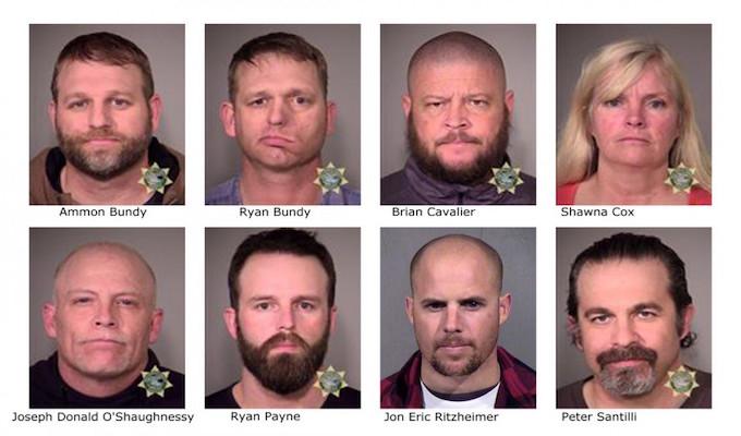 Three more arrested at Oregon refuge as Bundy urges them to go home