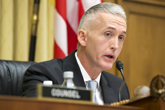 Trey Gowdy won't run for re-election