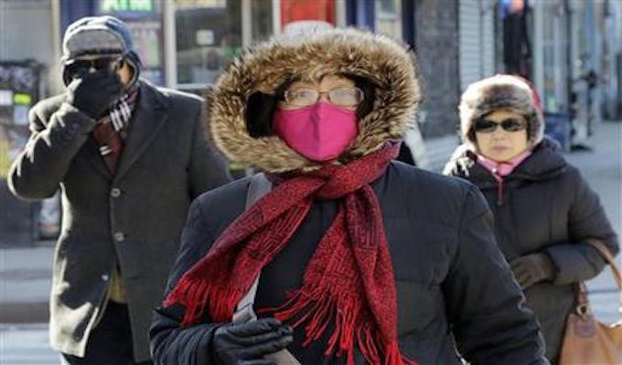 New York officials: It's 'too cold' for Ice Festival