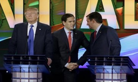 GOP debate turns into brawl