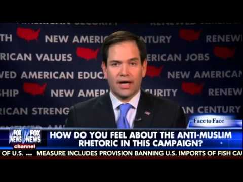 Rubio: There are millions of patriotic Muslim Americans