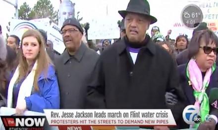 Jesse Jackson: 'No Pipes, No Peace'
