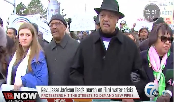 Jesse Jackson: 'No Pipes, No Peace'