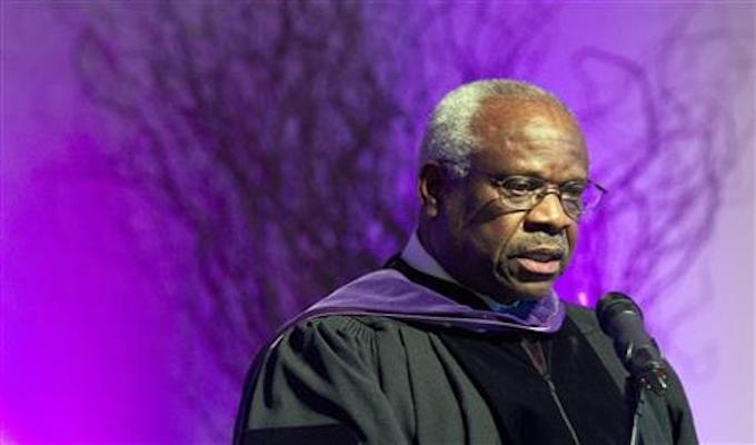 Supreme Court Justice Thomas stresses need for neutrality
