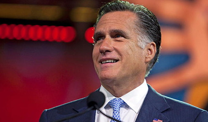 Mitt Romney and his clown car of compadres