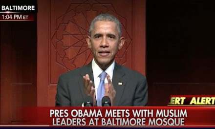 Obama thanks Muslims, slams inexcusable political rhetoric